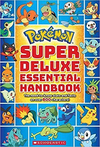 Pdf Download Super Deluxe Essential Handbook Pokemon The Need To Know Stats And Facts On Over 800 Characters Pokemon Super Pokemon Handbook Pokemon Gifts