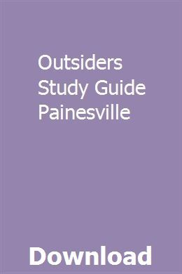 Outsiders Study Guide Painesville Bible Study Guide Ruth Bible Study Study Guide