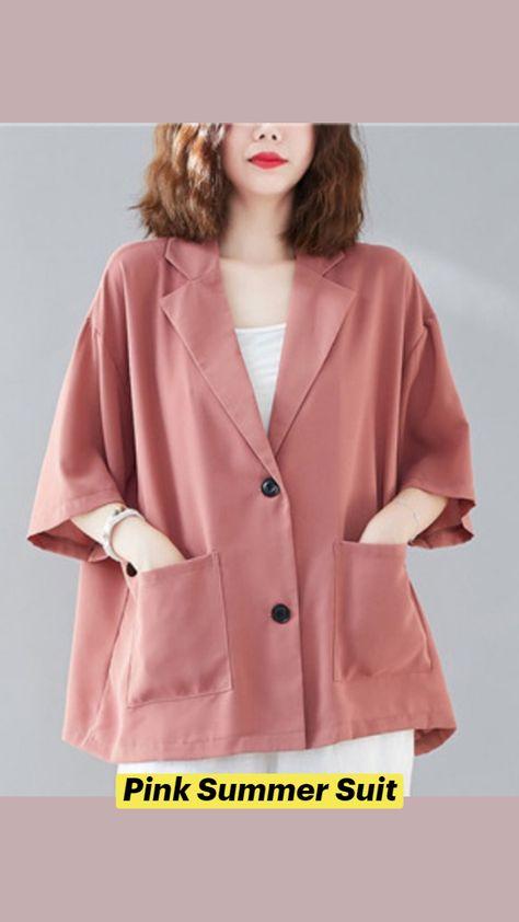 Pink Summer Suit
