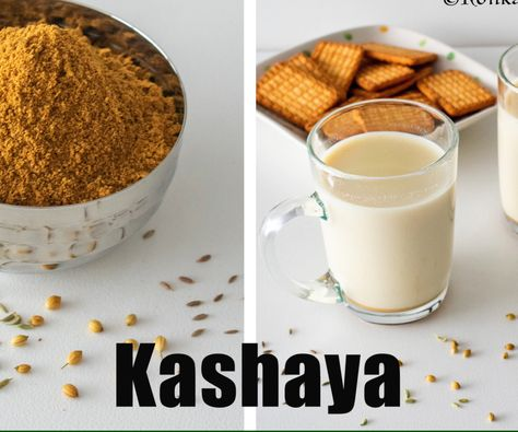 3 Ingredients herbal tea | Kashaya powder | How to make kashaya