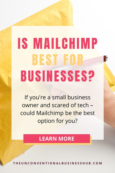 Why Mailchimp IS best for small business owners!
