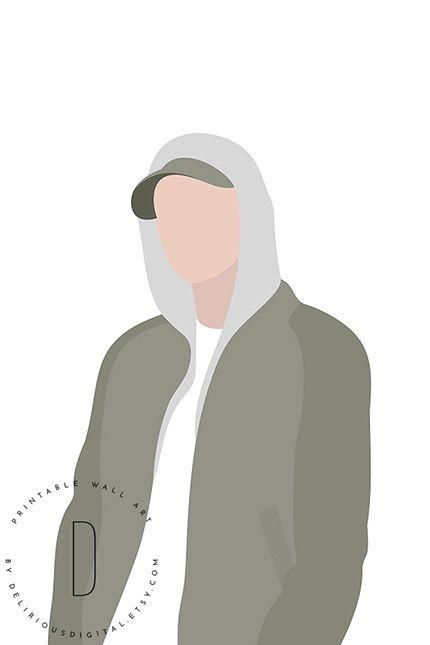 Eminem Poster Rap Poster Rap Art Print Rapper Poster Etsy Eminem Poster Hip Hop Poster Rapper Art