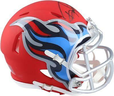 AMP Tennessee Titans Riddell Speed Mini Football Helm