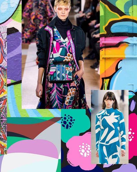 Spring/Summer 2020 Print & Pattern Trend – Solid Graffiti | Trend Forecasts – Patternbank | Bloglovin'