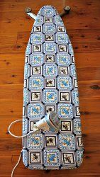 What would quilters do without their ironing boards? Make sure you aren't neglecting yours by keeping it clean with a 30 Minute Two Sided Ironing Board Cover.