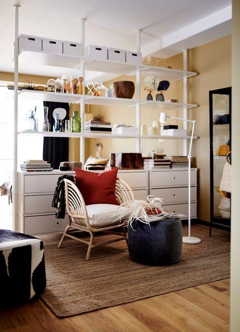 Le Nouveau Catalogue Ikea 2020 Va Nous Endormir Rangement Petit Espace Meuble De Separation Ikea