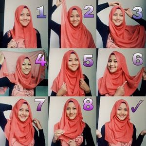 Tutorial Hijab Segitiga Untuk Sekolah Cara Lif Co Id
