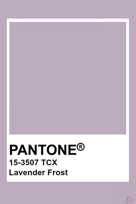 Pantone Lavender Frost