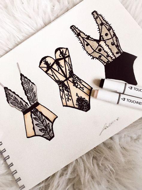 36 Trendy fashion sketches sketchbooks ideas