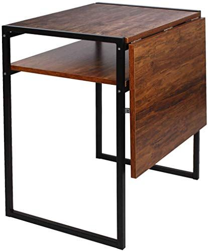New Folding Dining Table Compact Drop Leaf Table Small Spaces