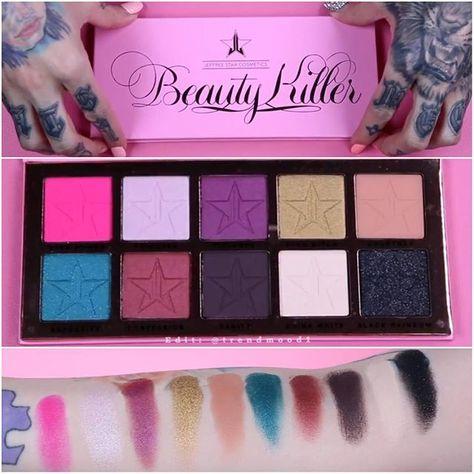 Beauty Killer Eyeshadow Palette by jeffree star cosmetics