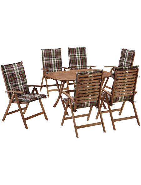 Massangabenformat Tisch 85x135x72 Materialangabenmaterial Eukalyptusholz Materialgruppe Hagebaubaumarkt Mer Gartenmobel Sets Gartenmobel Gartenstuhle