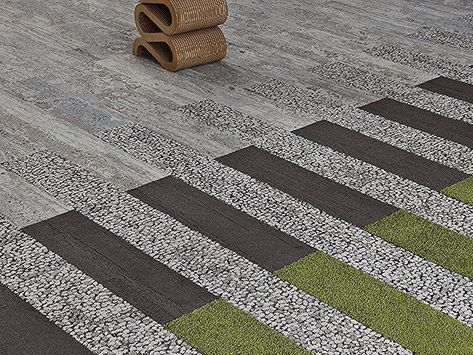 Our Skinny Plank #carpet tiles can be mixed and matched to create all #designs f