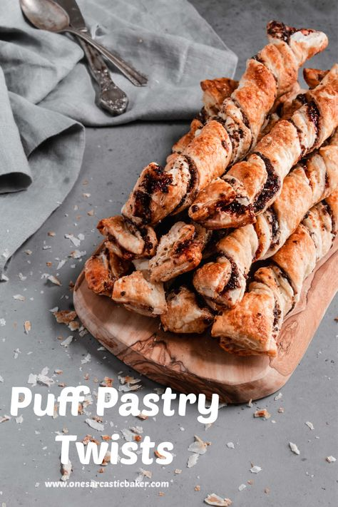 Puff Pastry Desserts Twisted