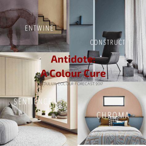 #ColourTrends #2017ColourTrends #2017Trends #DesignTrends   2017 palettes from dulux australia offer distilled colour   @meccinteriors   design bites