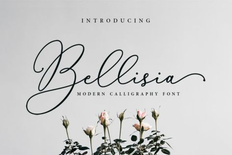 Bellisia (Font) by Sizimon · Creative Fabrica