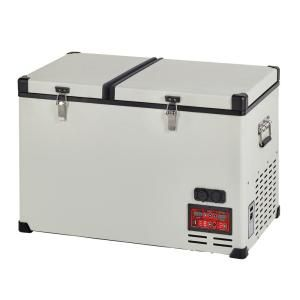 Unique 4 2 Cu Ft 120 L Solar 12 Volt 24 Volt Dc Or 110 Volt Ac Portable Refrigerator Freezer In White Ugp 120l1 W The Home Depot Portable Refrigerator Refrigerator Freezer Color Refrigerator