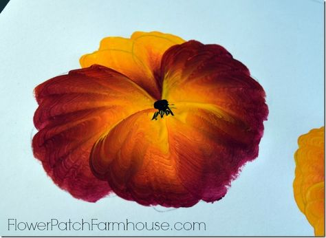 Learn to Paint a Pansy One Stroke at a Time