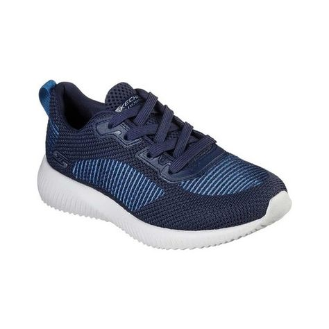 Women's Skechers BOBS Sport Squad Turn Up Sneaker Navy