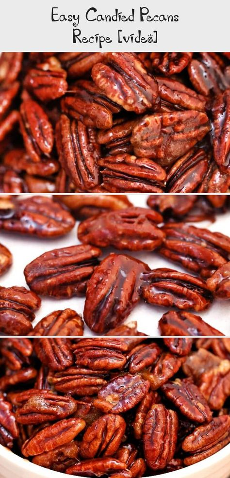 Candied Pecans are great for snacking, desserts and even salads! This recipe makes sure that the nuts are not sticky, but crunchy, and perfectly spiced!  #ChristmasPrintables #ChristmasTable #ChristmasHolidays #ChristmasDinner #ChristmasDecorations