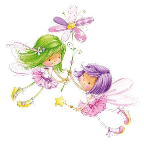 animals fairies cartoons little girl handmade Children squirrel birthday 3D fairies strawberries fairy category children