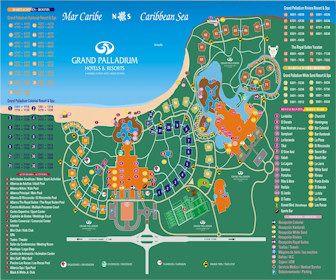 Royal Suites Yucatan By Paladium Resort Map Layout Riviera Maya Mexico Mayan Riviera Mayan Riviera Mexico