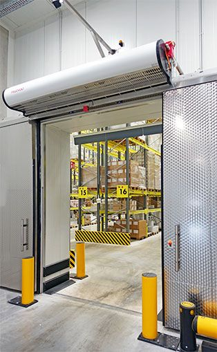 Air Curtain Cold Store Door Warehouse Design Factory