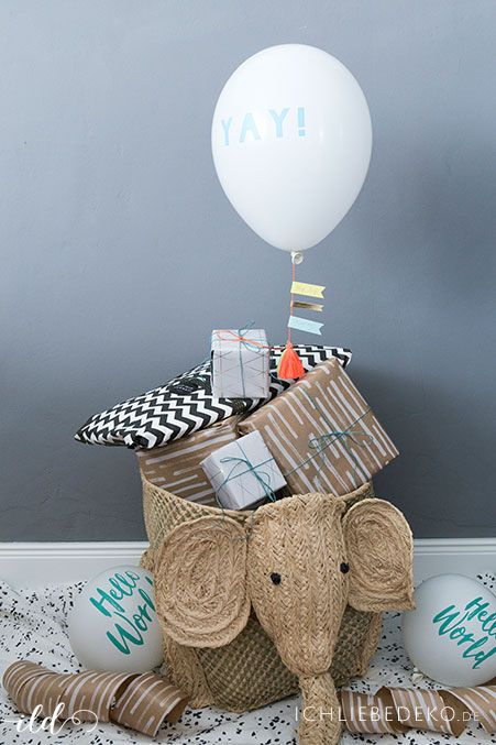 Babyparty Its A Boy Babyparty Geschenke Verpacken
