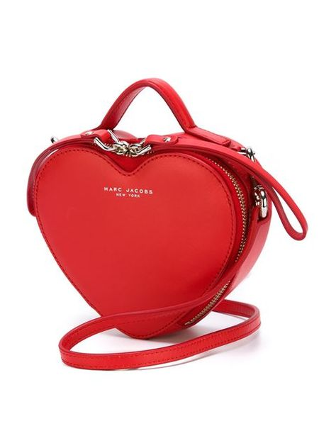 Marc By Marc Jacobs  Heart  crossbody bag Worn by Cheryl Blossom on  Riverdale 1x08 bfb07997fb8d