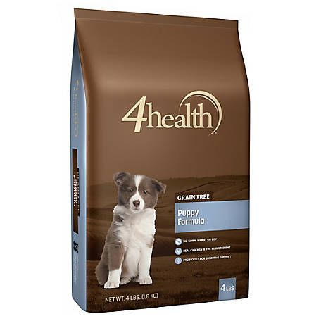 4health Grain Free Puppy Dog Food 4 Lb Bag At Tractor Supply Co
