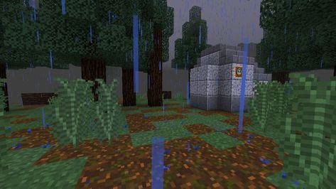 The Rain Adventure Survival Map For Minecraft Pe