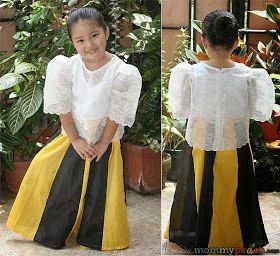 My Mom Friday Kid Style Best In Filipiniana 2014 Filipiniana Dress Kids Dress Filipino Clothing