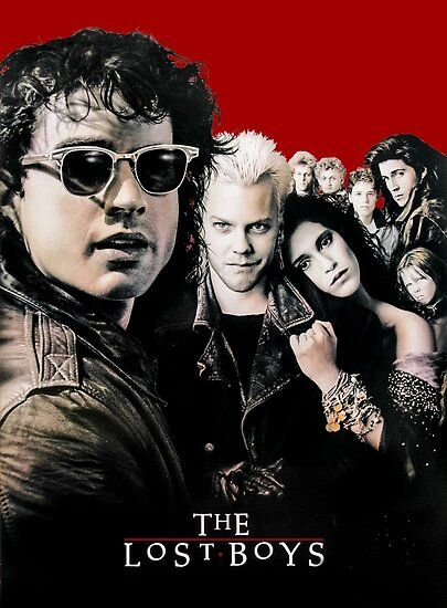 The Lost Boys Poster Inspired Artwork Poster by djdna
