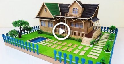 How To Make A Beautiful House With Fairy Garden Swimming Pool