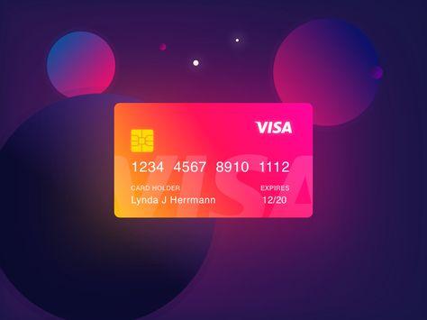 Meteor Credit Card Design