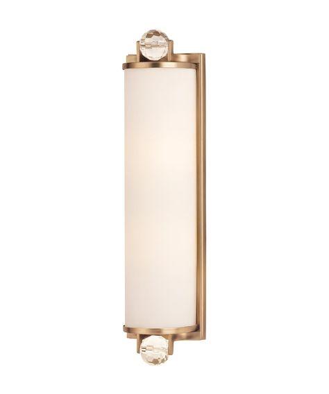 Hudson Valley Prescott 5 Inch Wide Bath Vanity Light Master