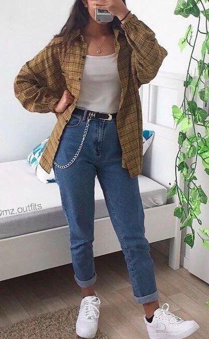2020 Women Jeans High Waisted Leather Pants Khaki Jeans Khaki Pants Outfit – rotatal