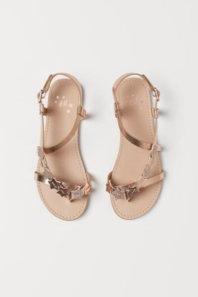 H\u0026M GB 1 | Brown sandals, Strap heels