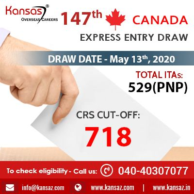 147th Canada Express Entry Draw Canada Pr In 2020 Draw Expressions Canada