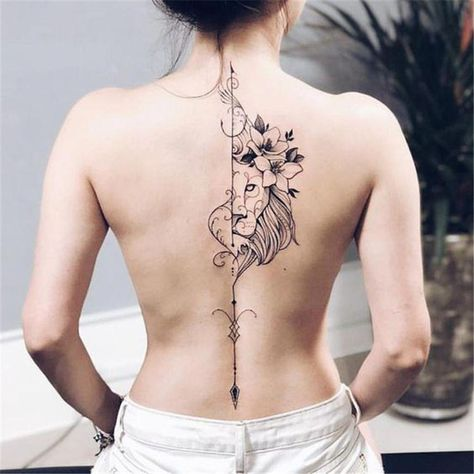 Best Tattoos On The Back That Will Make You Look Stunning; Back Tattoos; Tattoos On The Back; Simple Tattoos; Back tattoos of a woman; Ribbon tattoos; Flower tattoos; Cross tattoos; Little prince tattoos; Symbol tattoo; Pattern tattoos; #Tattoosonback