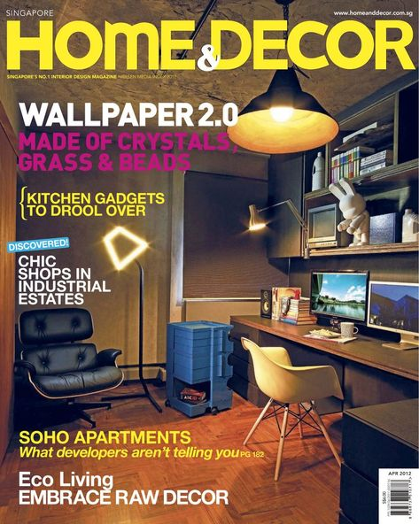 Home & Decor Back Issue April 2012 (Digital)