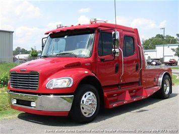 2006 Freightliner M2 106 Sport Chassis Cat Diesel Crew Cab Ranch Hauler Bed Freightliner Freightliner Trucks Hummer Truck