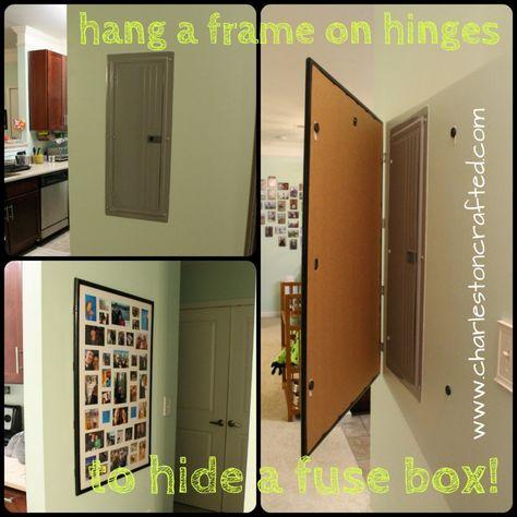 [SCHEMATICS_4CA]  DIY decorative electrical box cover | Electrical box cover, Breaker box  cover, Cover electrical panel | Large Metal Fuse Box |  | Pinterest