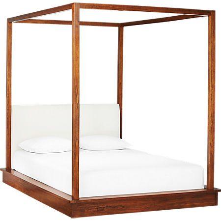 Bali Wood Canopy Bed Queen Reviews Di 2020 Dekorasi Rumah