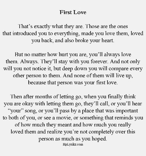 List of Pinterest first love heartbreak facts images & first