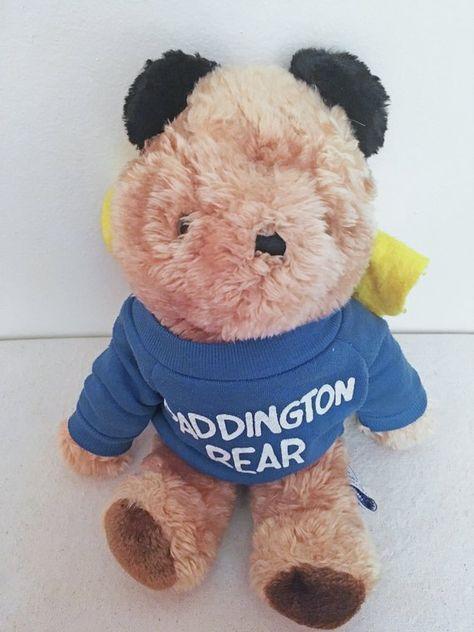 paddington bear stuffed animal # 80