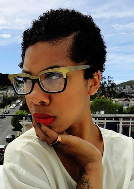 List Of Pinterest Tapered Natural Hair Undercut Black Women Pictures