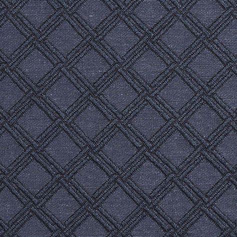 E547 Blue Diamond Jacquard Woven