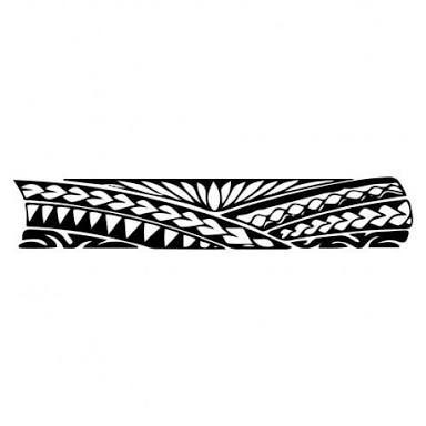 Tattoo Maori Na Perna Bracelete Pesquisa Google Bracelete