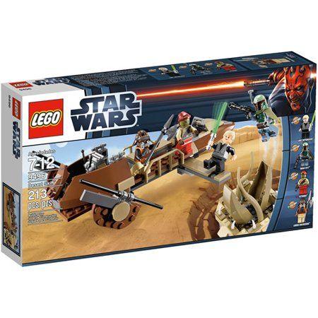 Lego Star Wars Desert Skiff Play Set Walmart Com Lego Star Wars Lego Star Lego War